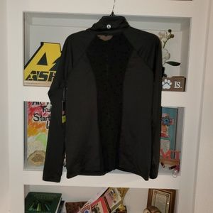 NWT mesh back track jacket